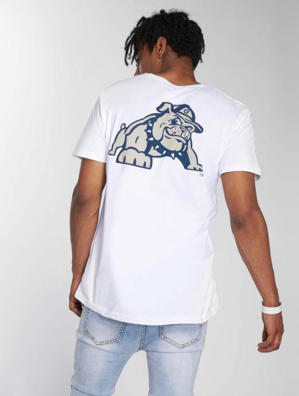 Merchcode T-Shirty Georgetown Hoyas bialy