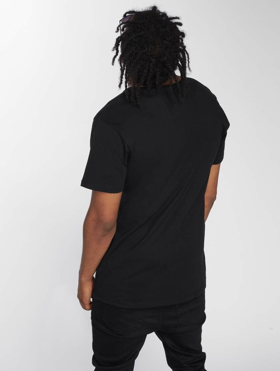 Merchcode T-skjorter Gorillaz 4 Faces svart