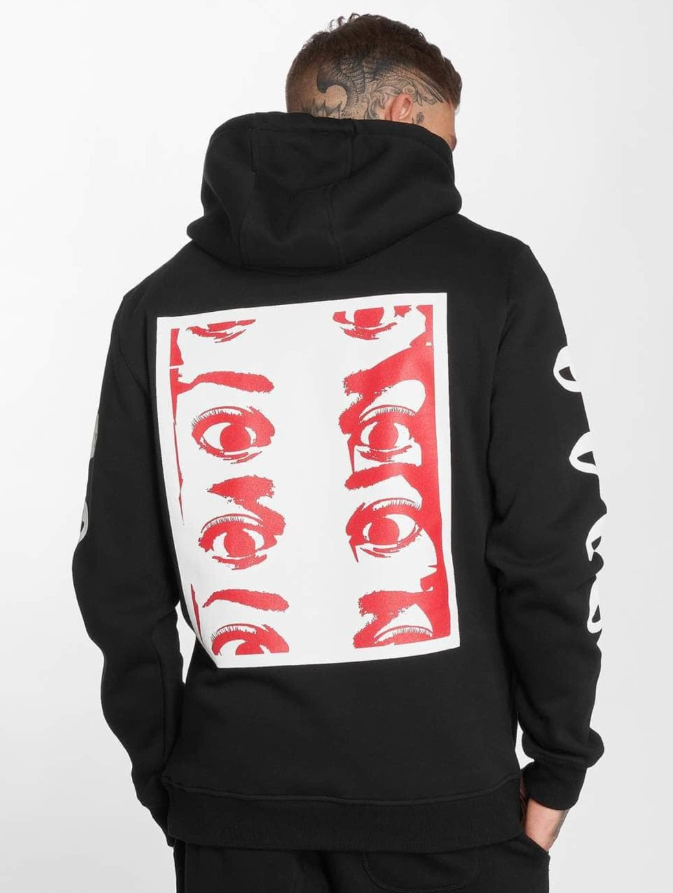Mister Tee Hoodies Eyes sort