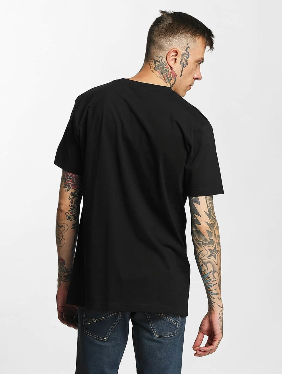 Mister Tee T-Shirt LA Rose black
