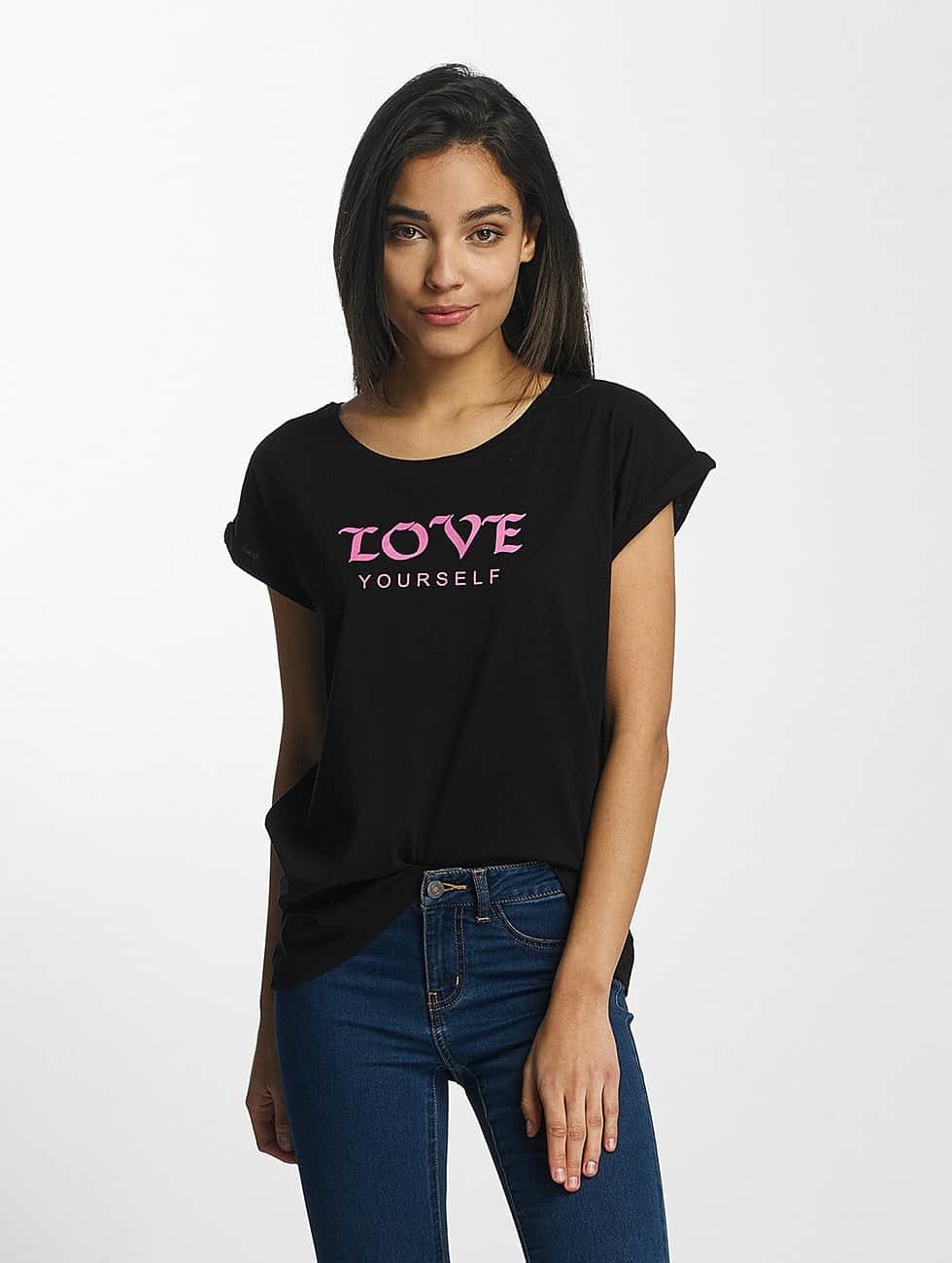 Mister Tee T-Shirt Love Yourself black