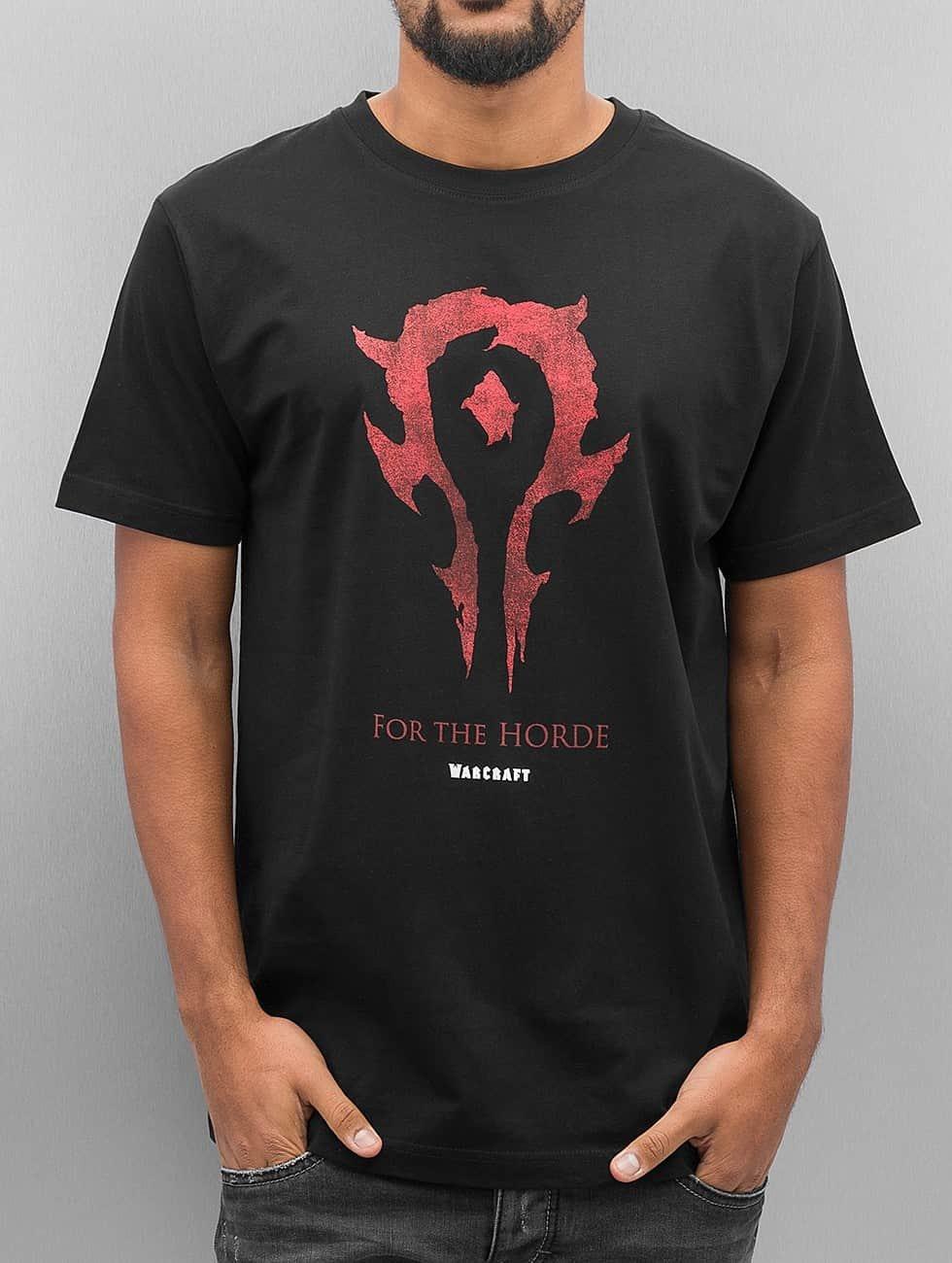 Mister Tee T-shirt Warcraft Horde nero
