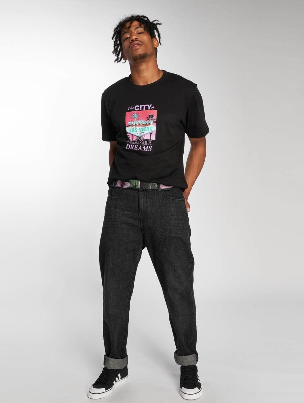 Mister Tee T-Shirt Broken Dreams noir
