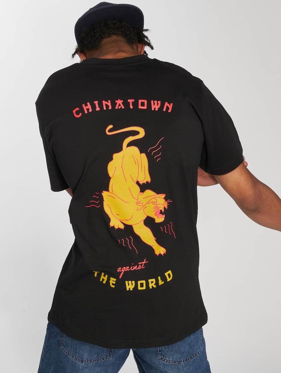 Mister Tee T-Shirt Chinatown schwarz