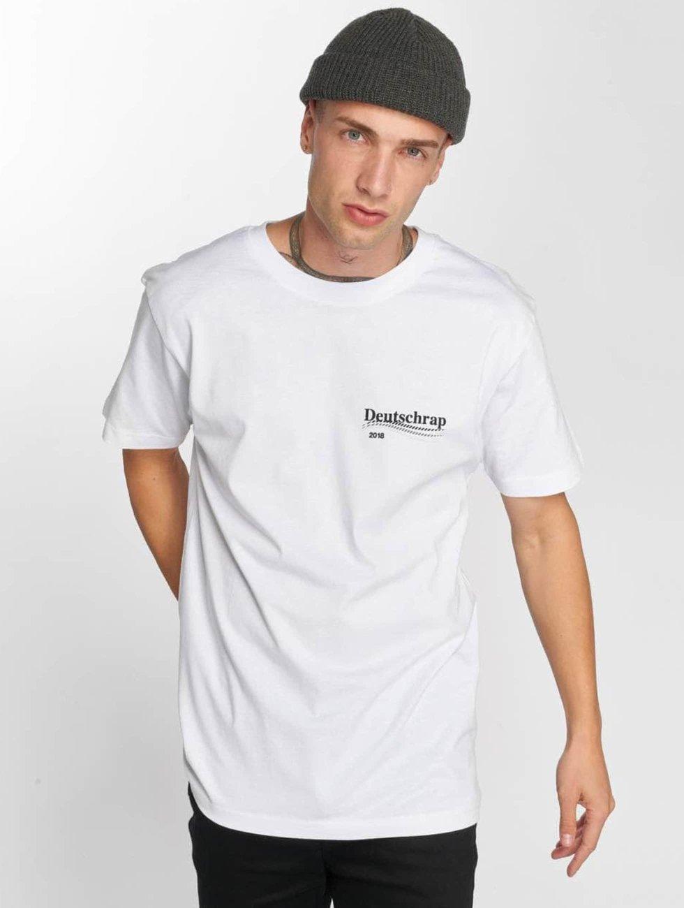 Mister Tee T-Shirt Deutschrap weiß