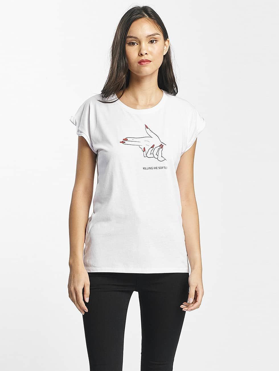 Mister Tee T-Shirt Killing Me Softly white