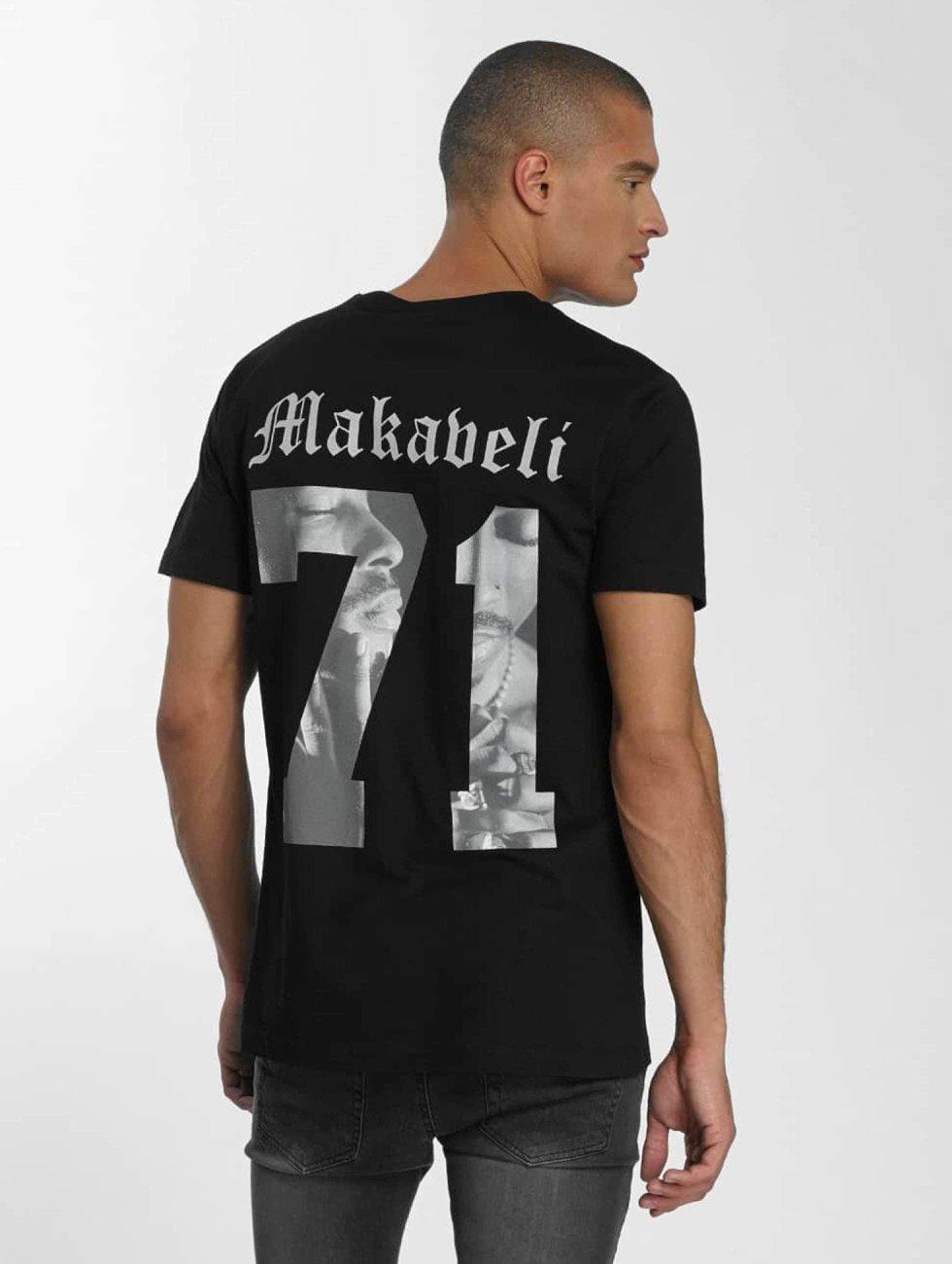 Mister Tee t-shirt Tupac Makaveli zwart