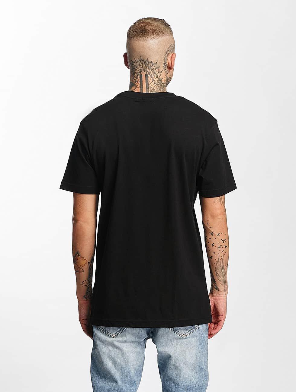 Mister Tee t-shirt Damn zwart