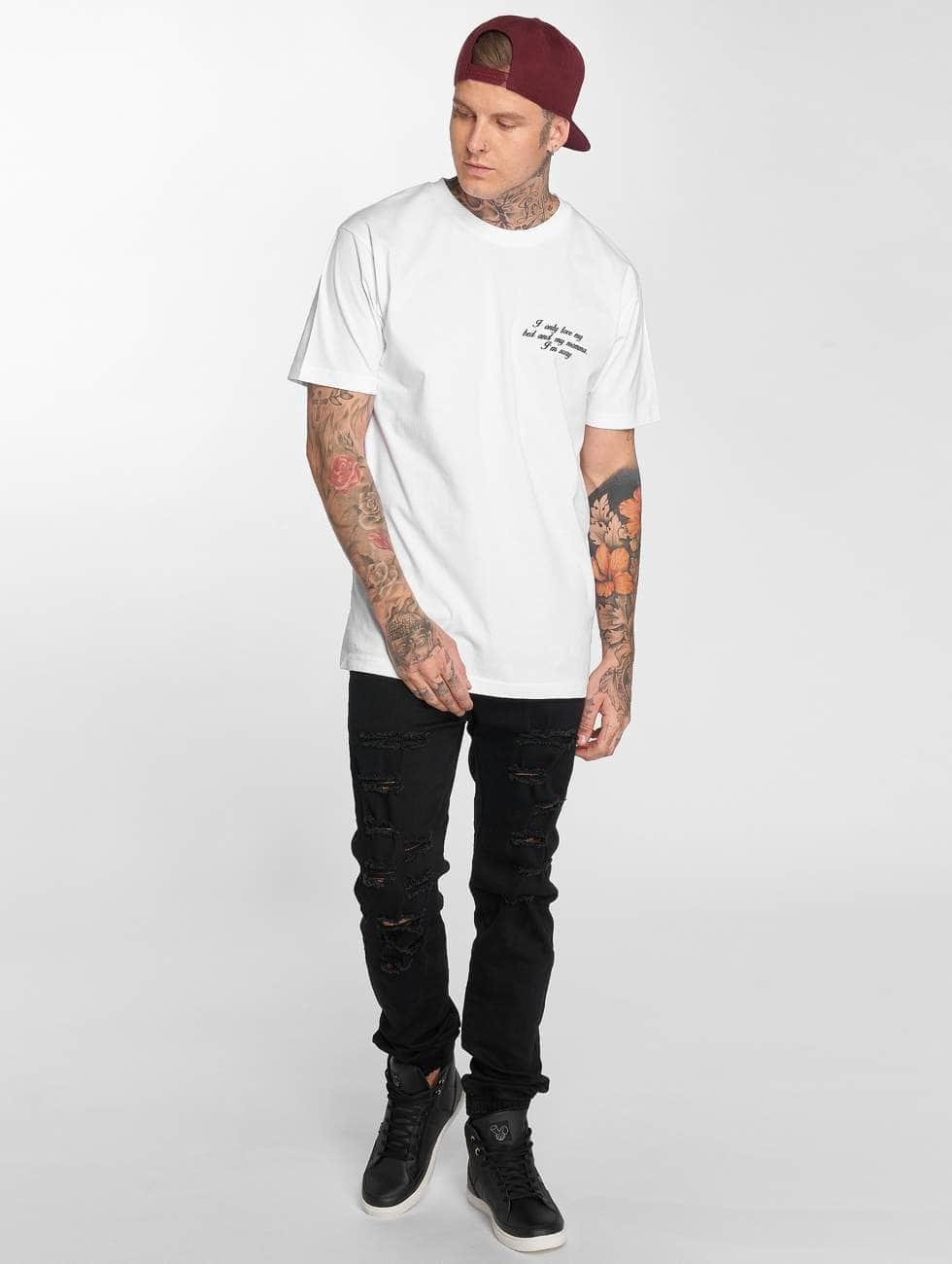 Mister Tee T-shirts I'm Sorry hvid