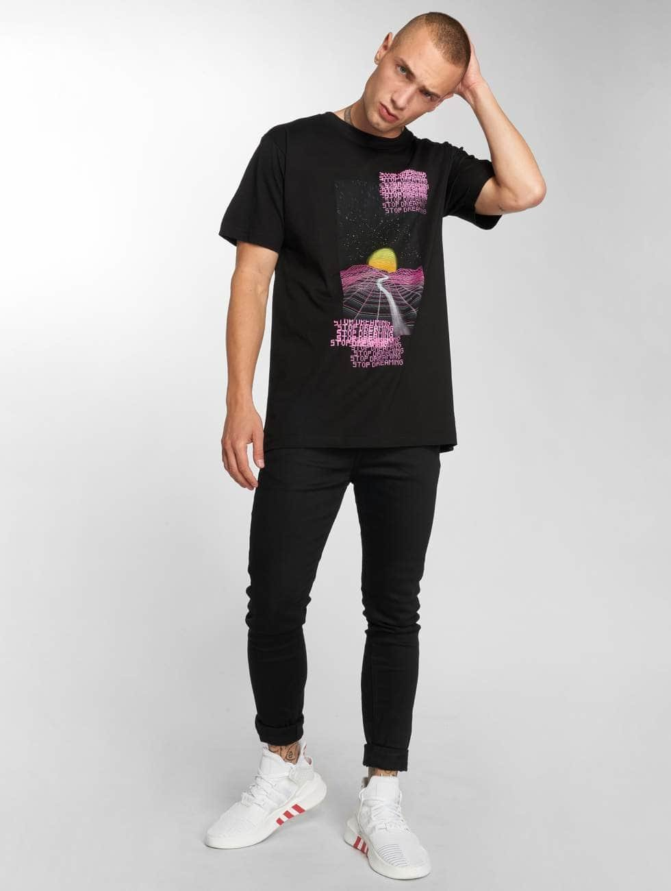 Mister Tee T-Shirty Stop Dreaming Tee czarny