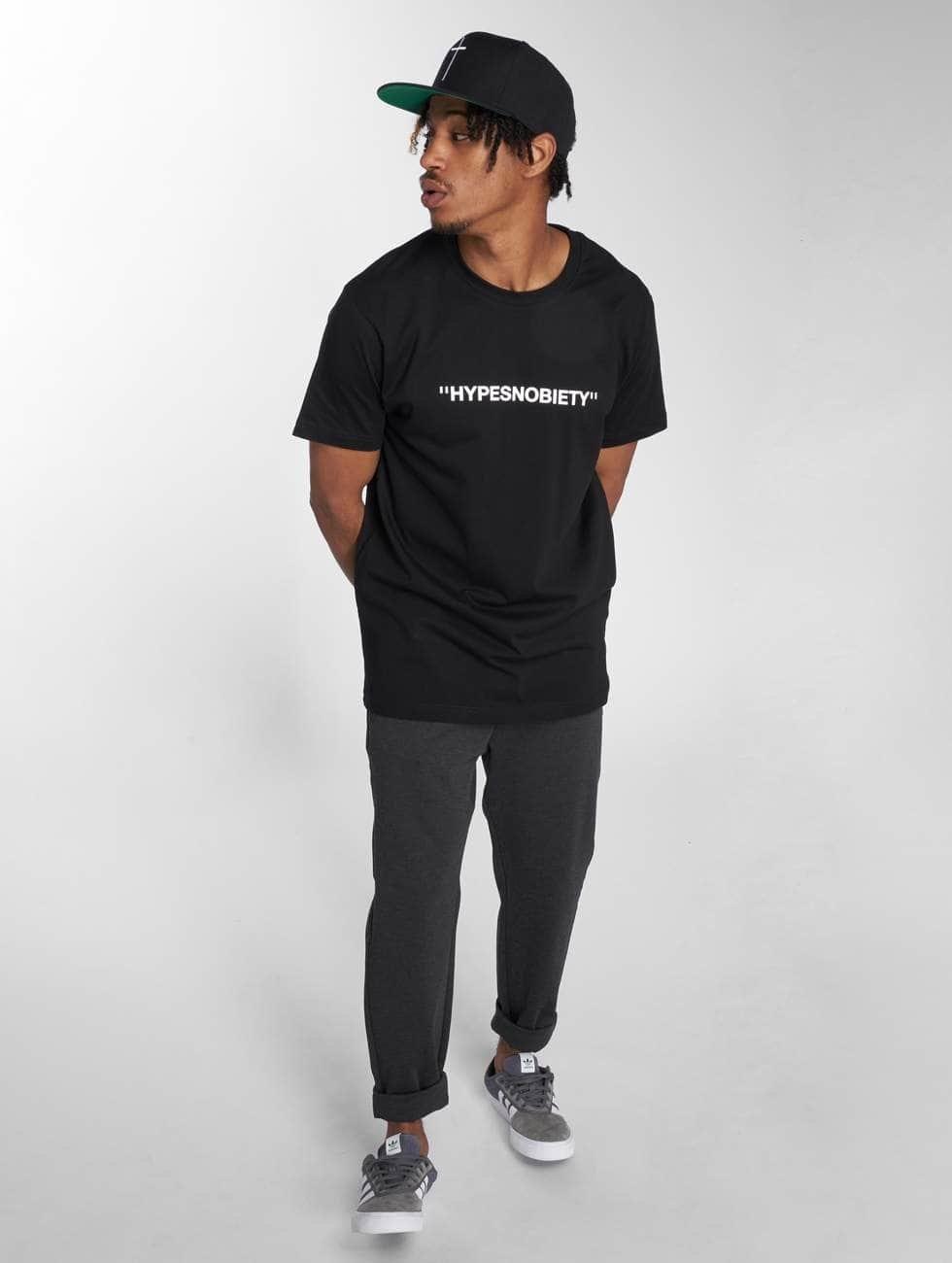 Mister Tee T-skjorter Snob Tee svart