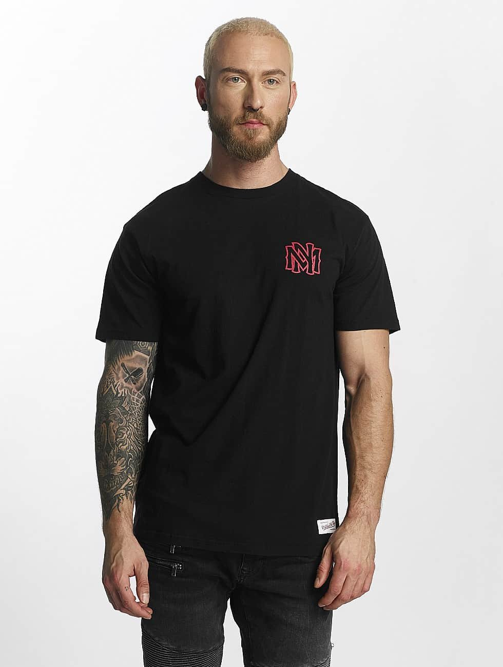 Mitchell & Ness Camiseta Red Pop Tailored negro