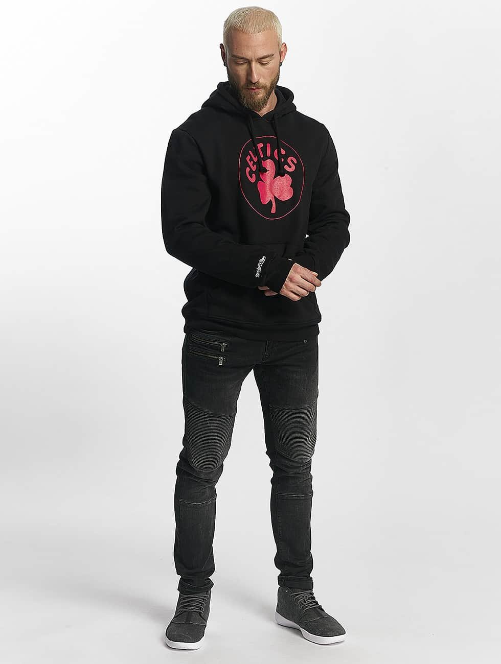 Mitchell & Ness Sudadera Red Pop negro