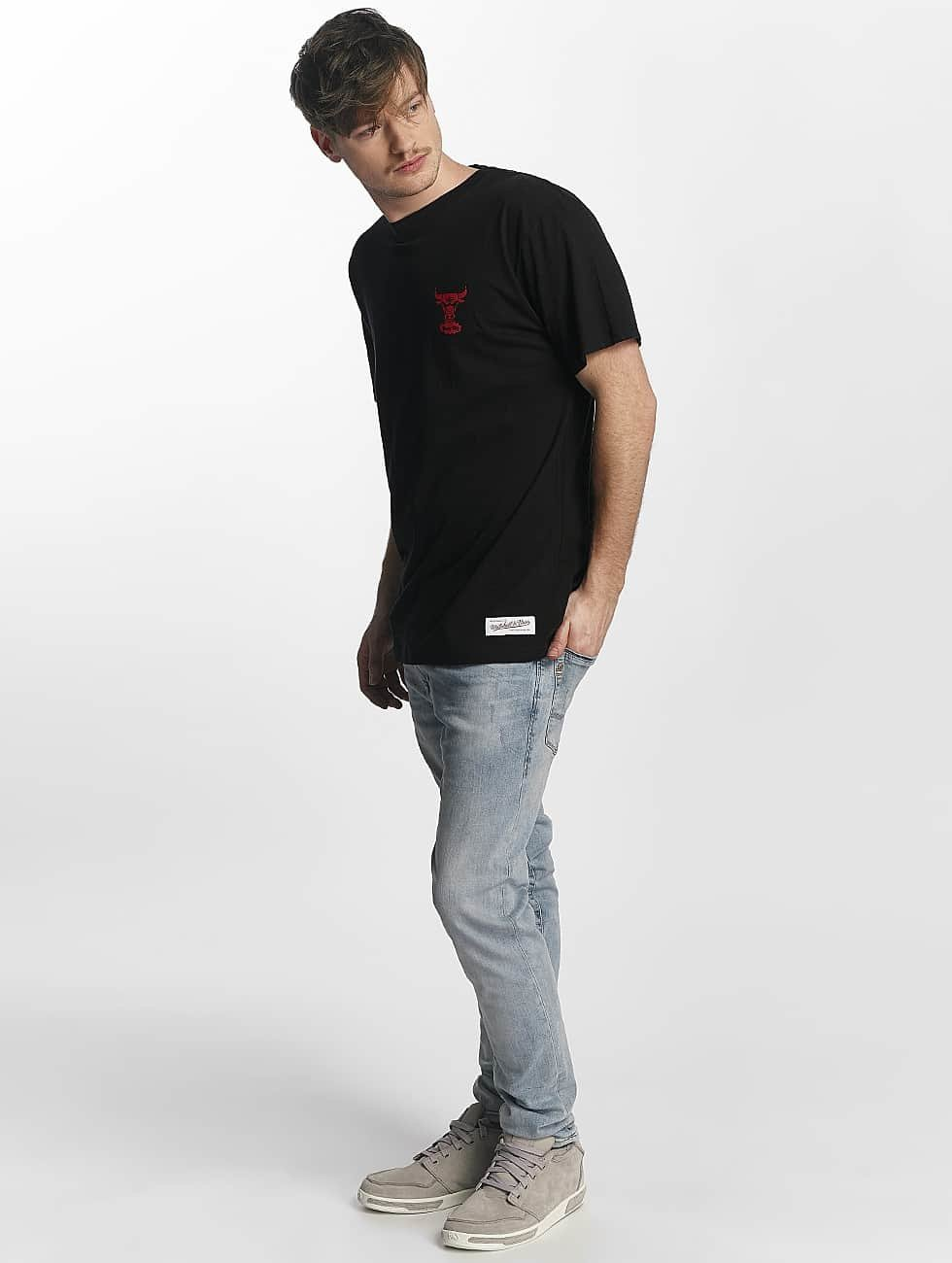 Mitchell & Ness T-shirt Red Pop Tailored Chicago Bulls svart
