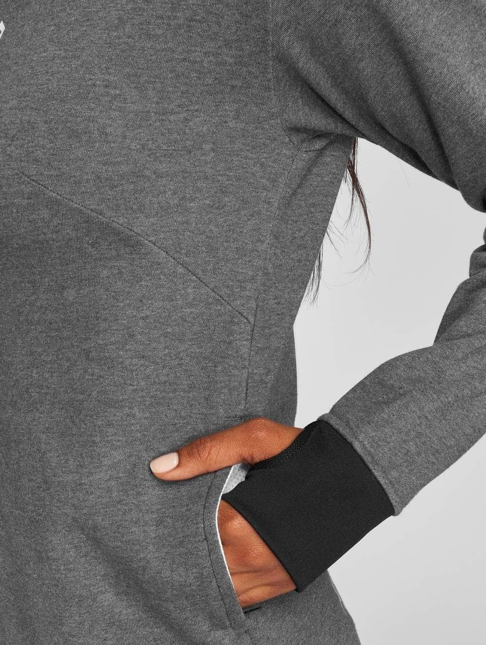 MOROTAI Felpa con cappuccio Comfy Performance grigio