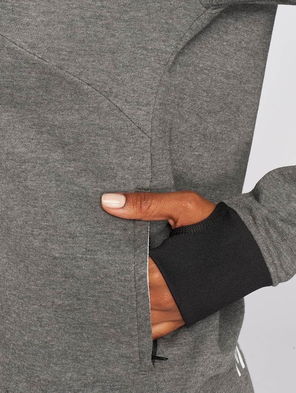 MOROTAI Hoodies con zip Comfy grigio