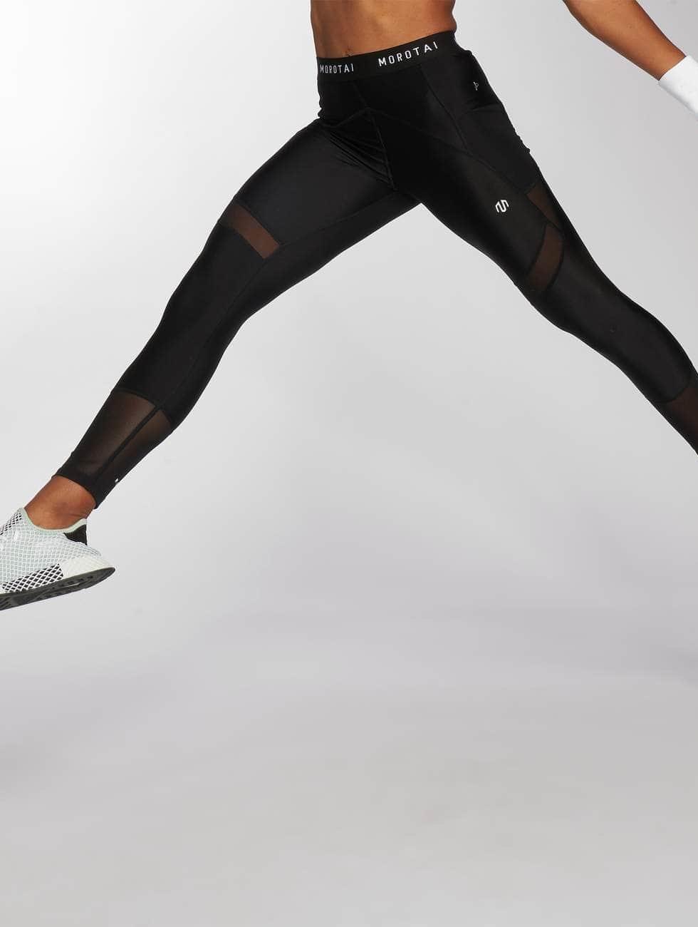 MOROTAI Legging May schwarz