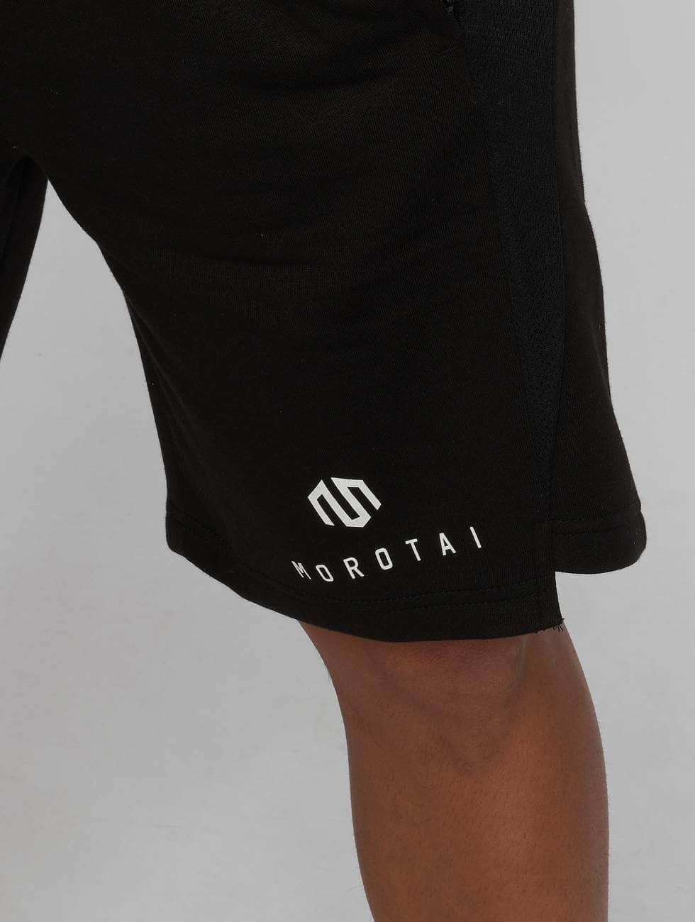 MOROTAI Pantalón cortos Neotech negro
