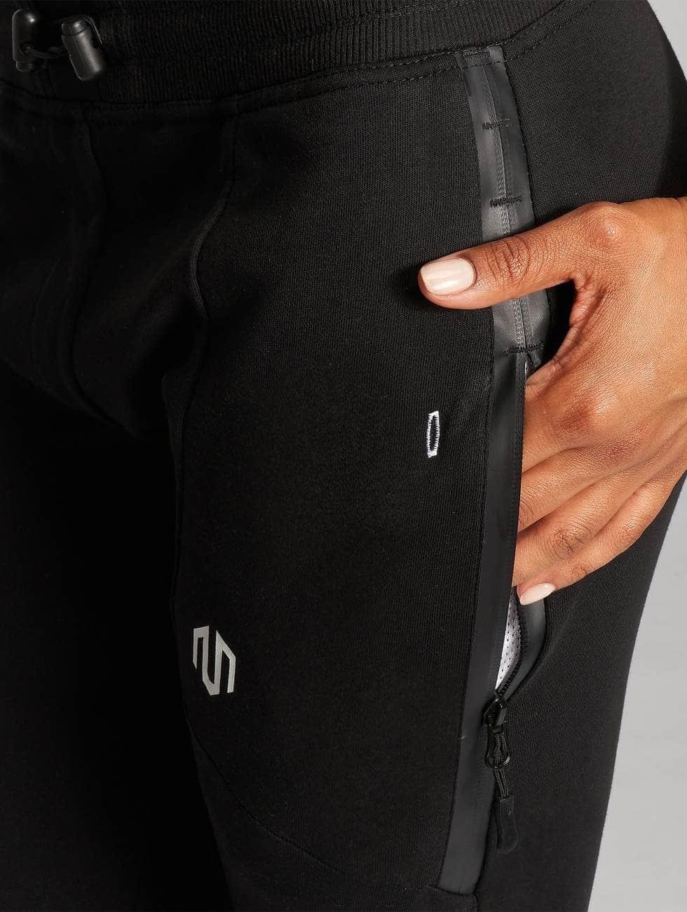 MOROTAI Pantalón deportivo Comfy negro