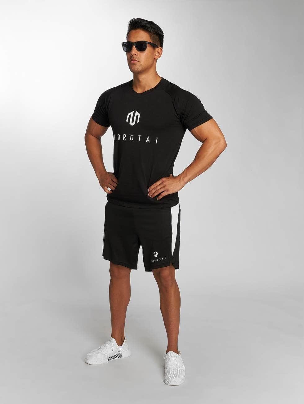 MOROTAI Shorts Tech schwarz