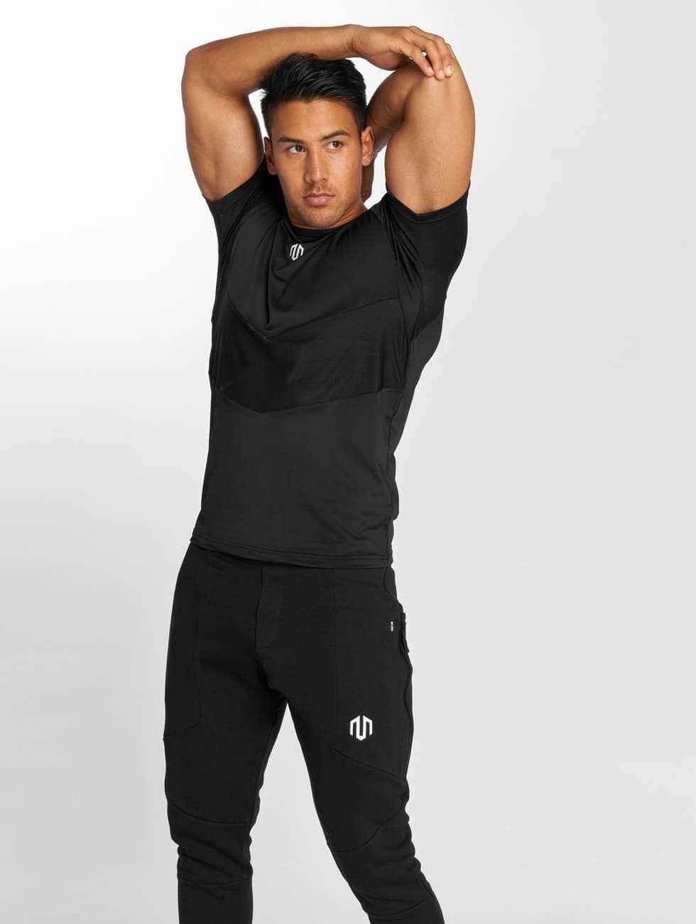 MOROTAI T-Shirty Endurance czarny
