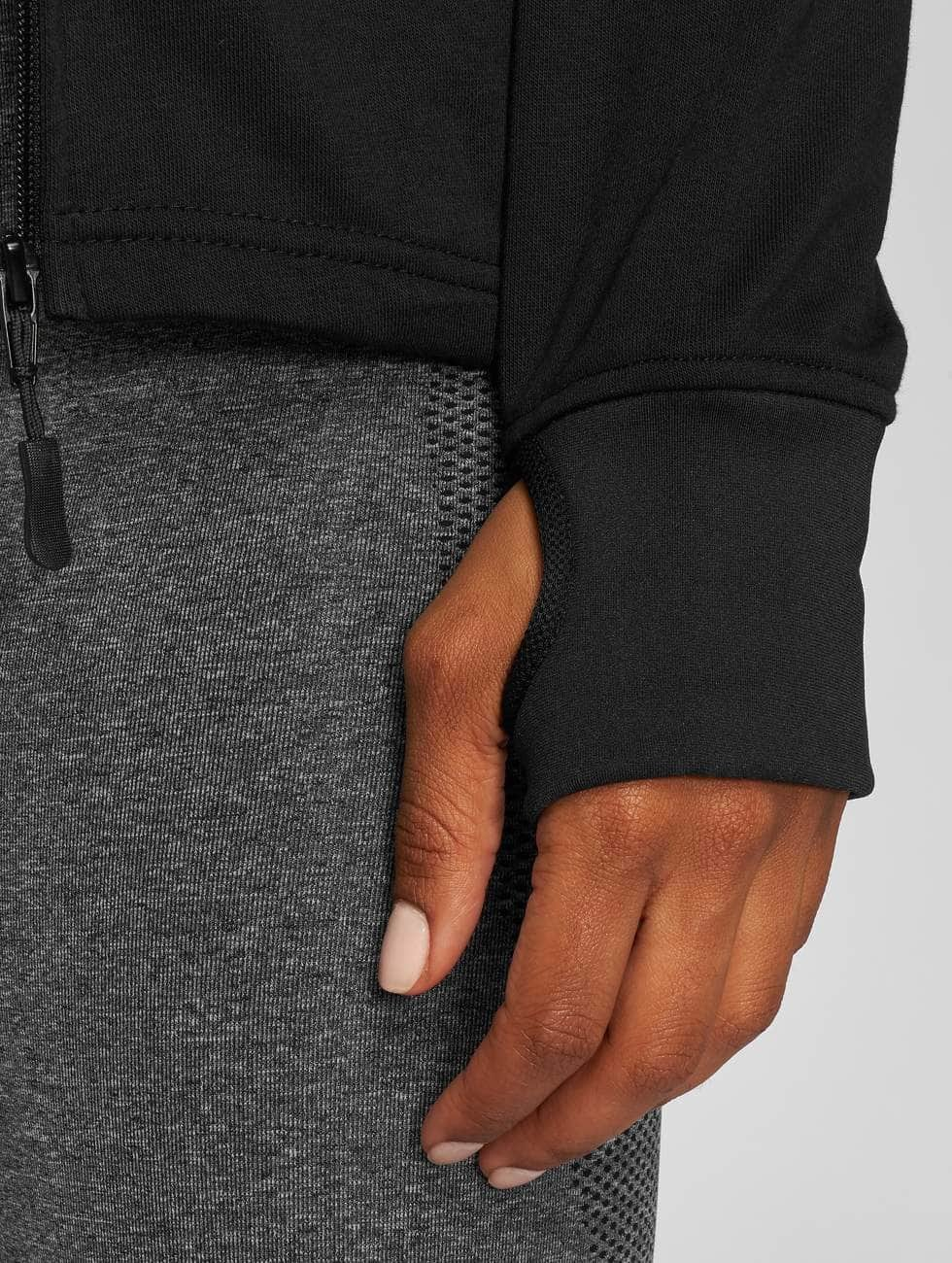 MOROTAI Zip Hoodie Comfy Performance svart