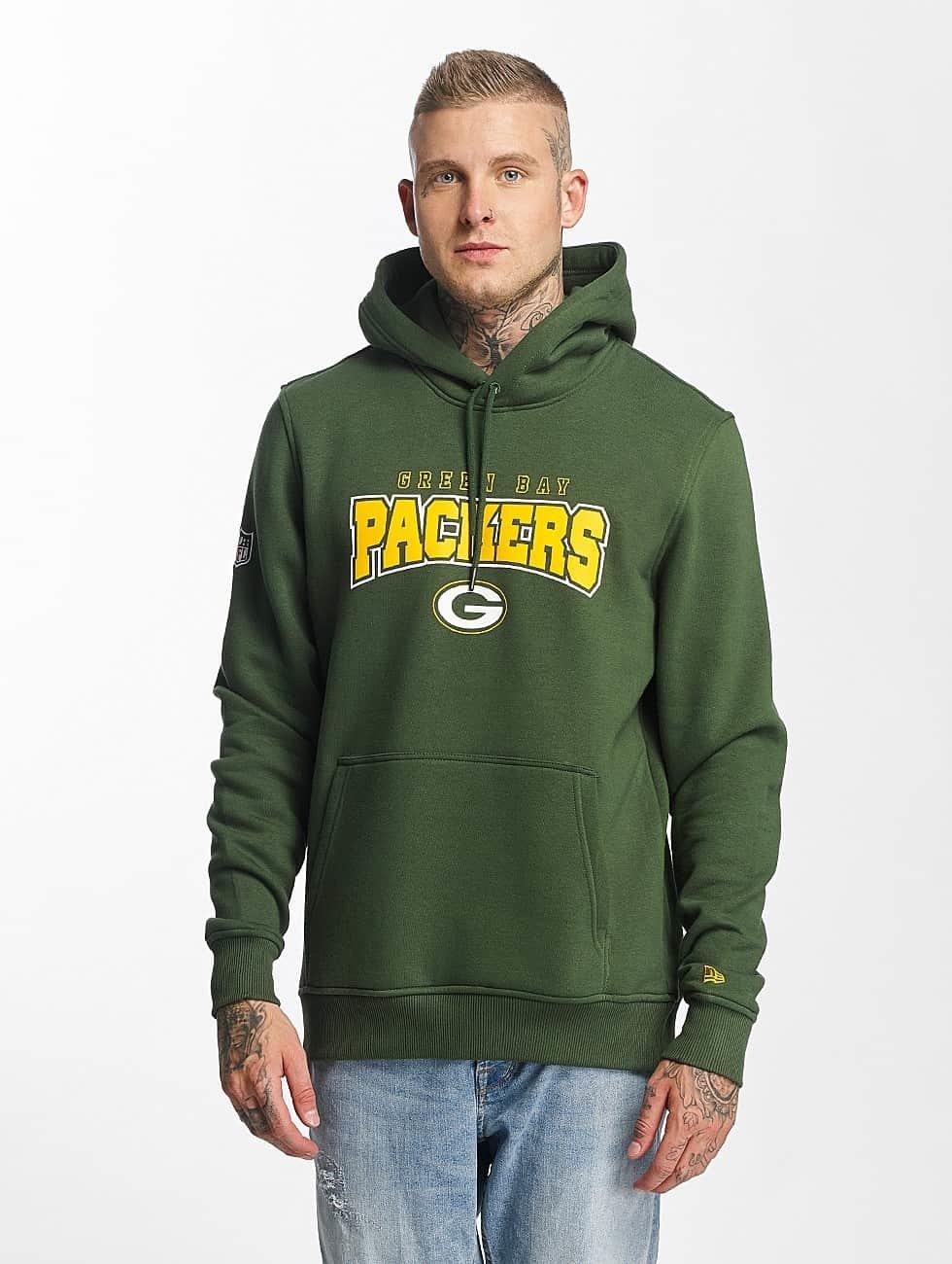 New Era Hoodie NFL Ultra Fan Green Bay Packers green