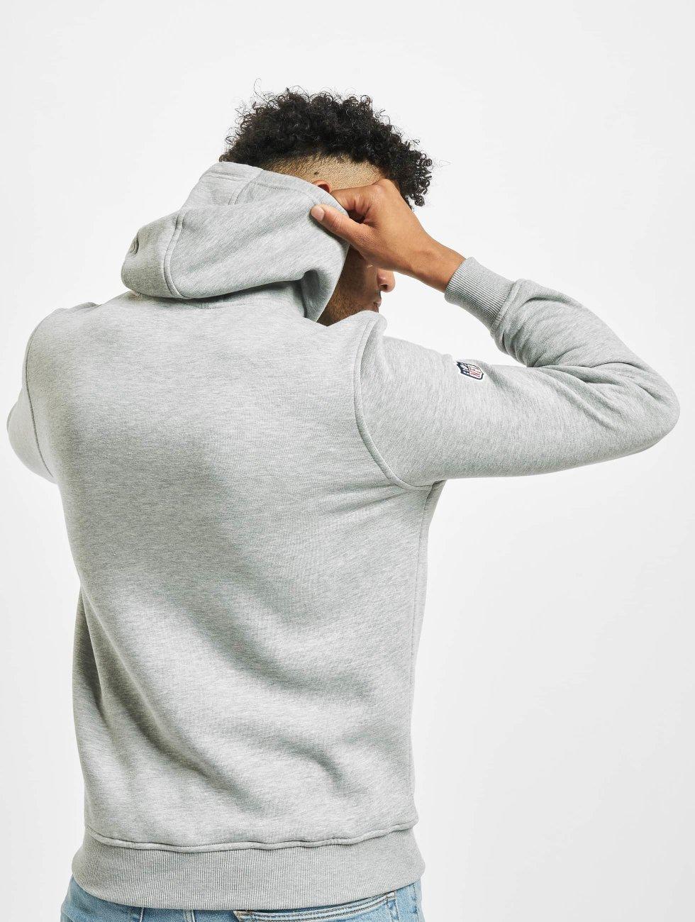 New Era Hoody NFL Team Logo grijs