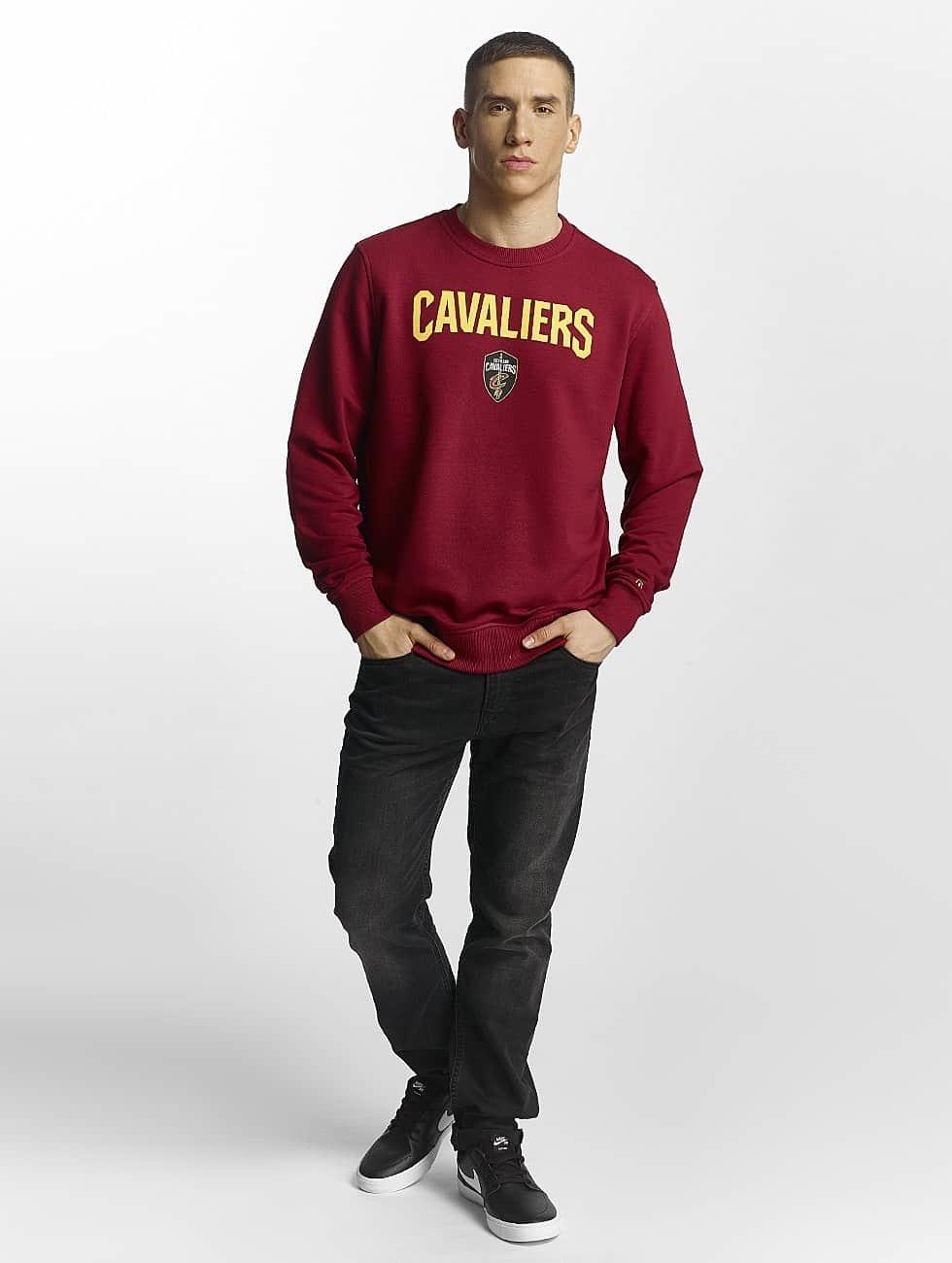 New Era Swetry Tip Off Cleveland Cavaliers czerwony