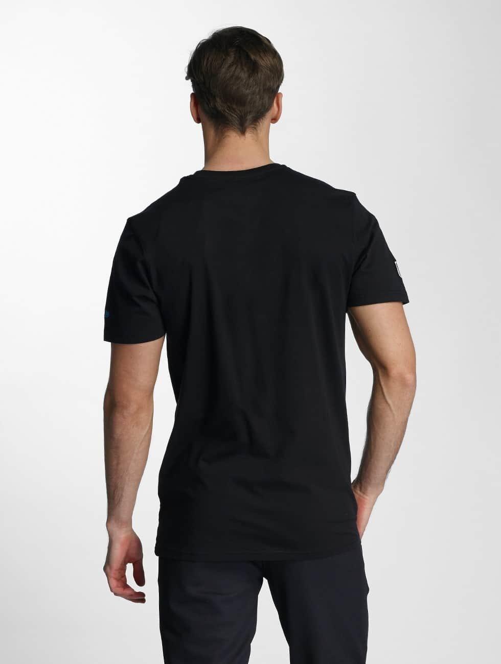 New Era T-Shirt NFL Headshot Carolina Panthers black