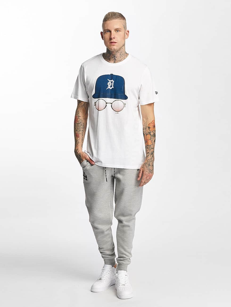 New Era T-Shirt MLB Cap And Shades Detroit Tigers weiß