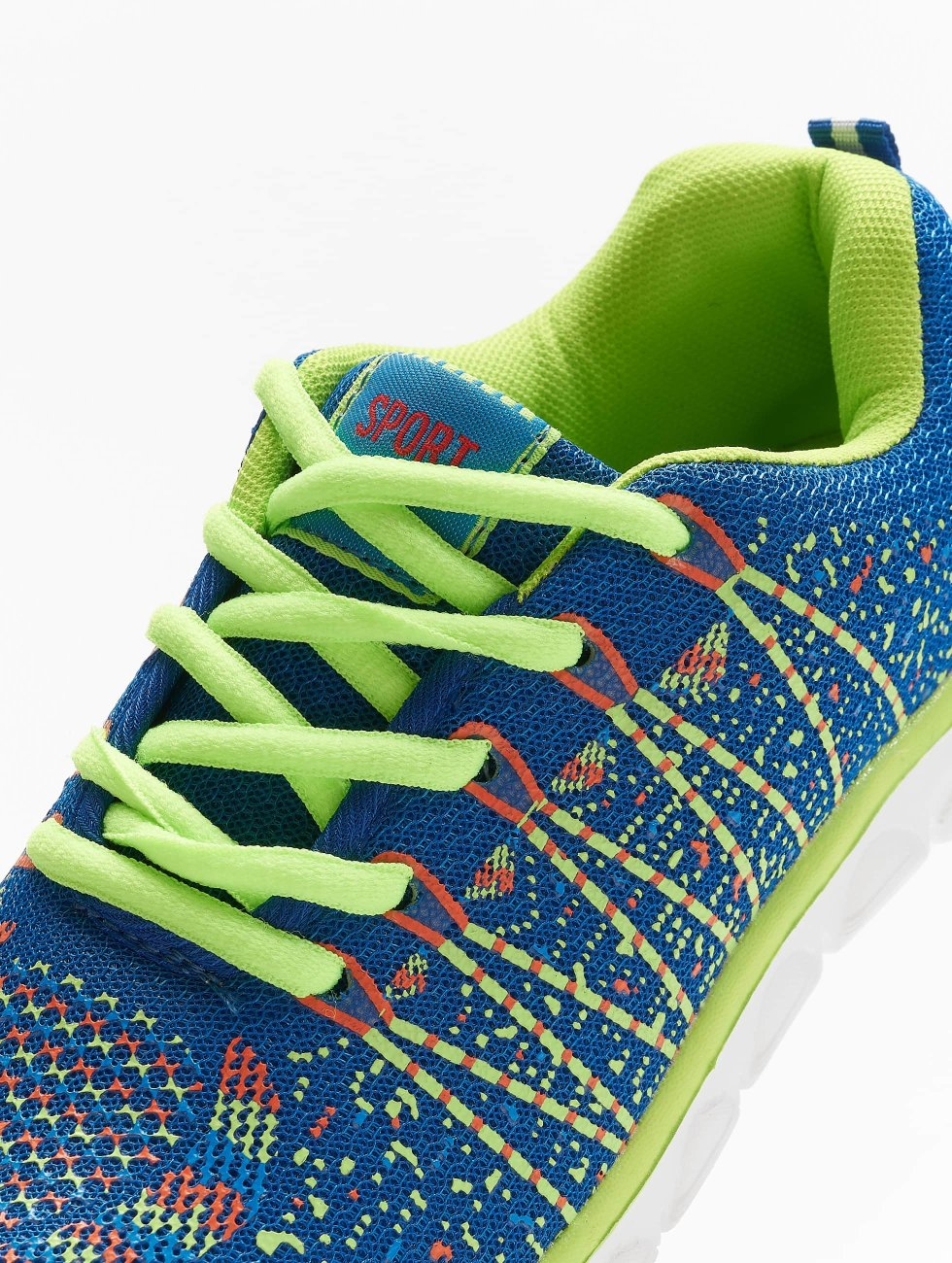 New York Style Sneakers Sport blue