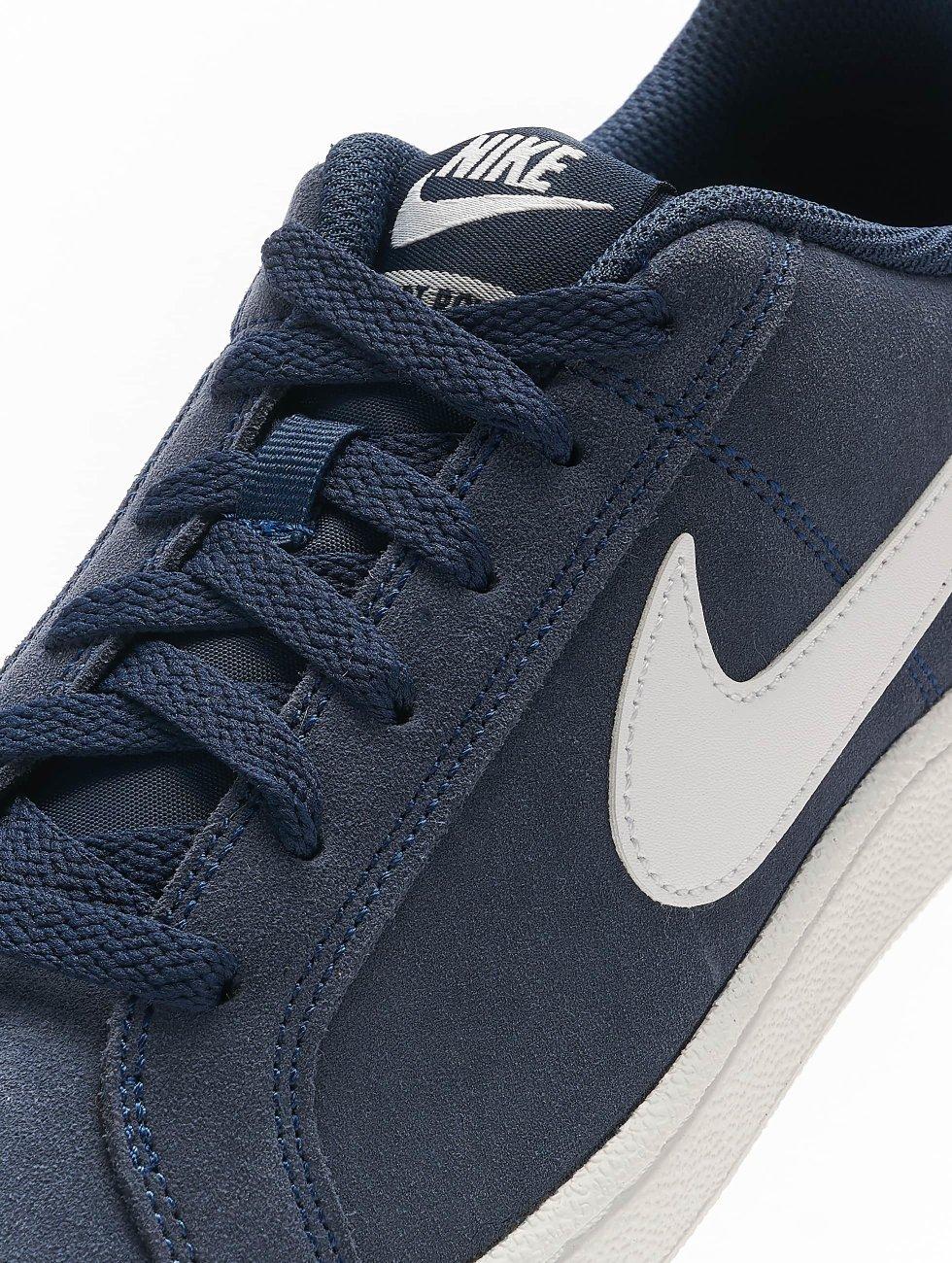 Goedkope Koop Levering Winkelen Uw Eigen Nike schoen / sneaker Court Royale Suede in blauw 422156 MTWCi