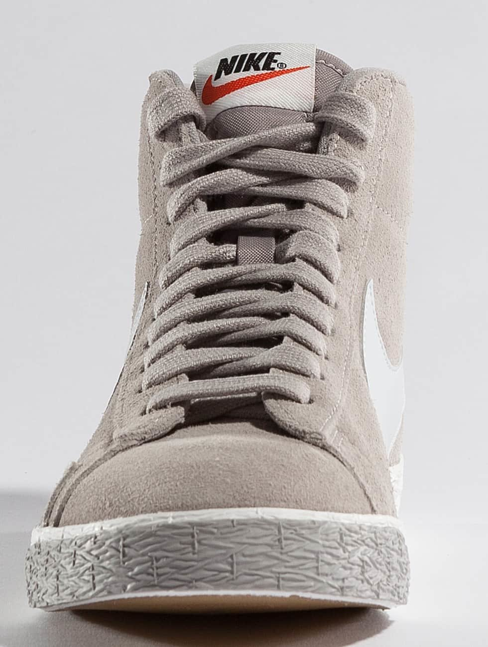 Nike Scarpa / Sneaker Blazer Mid Camoscio Grigio Vintage 335 374 1csHPUg