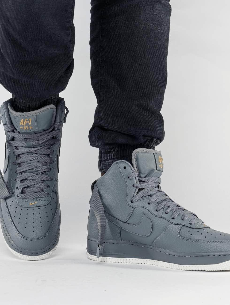 Nike Sneakers Air Force 1 High 07 gray