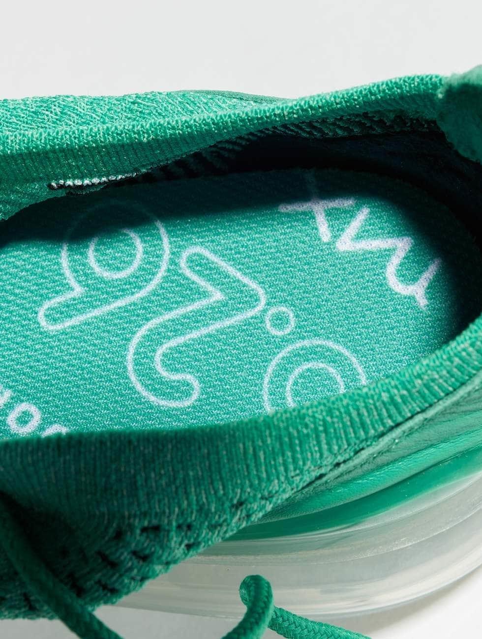 Nike Sneakers Air Max 270 Flyknit grön