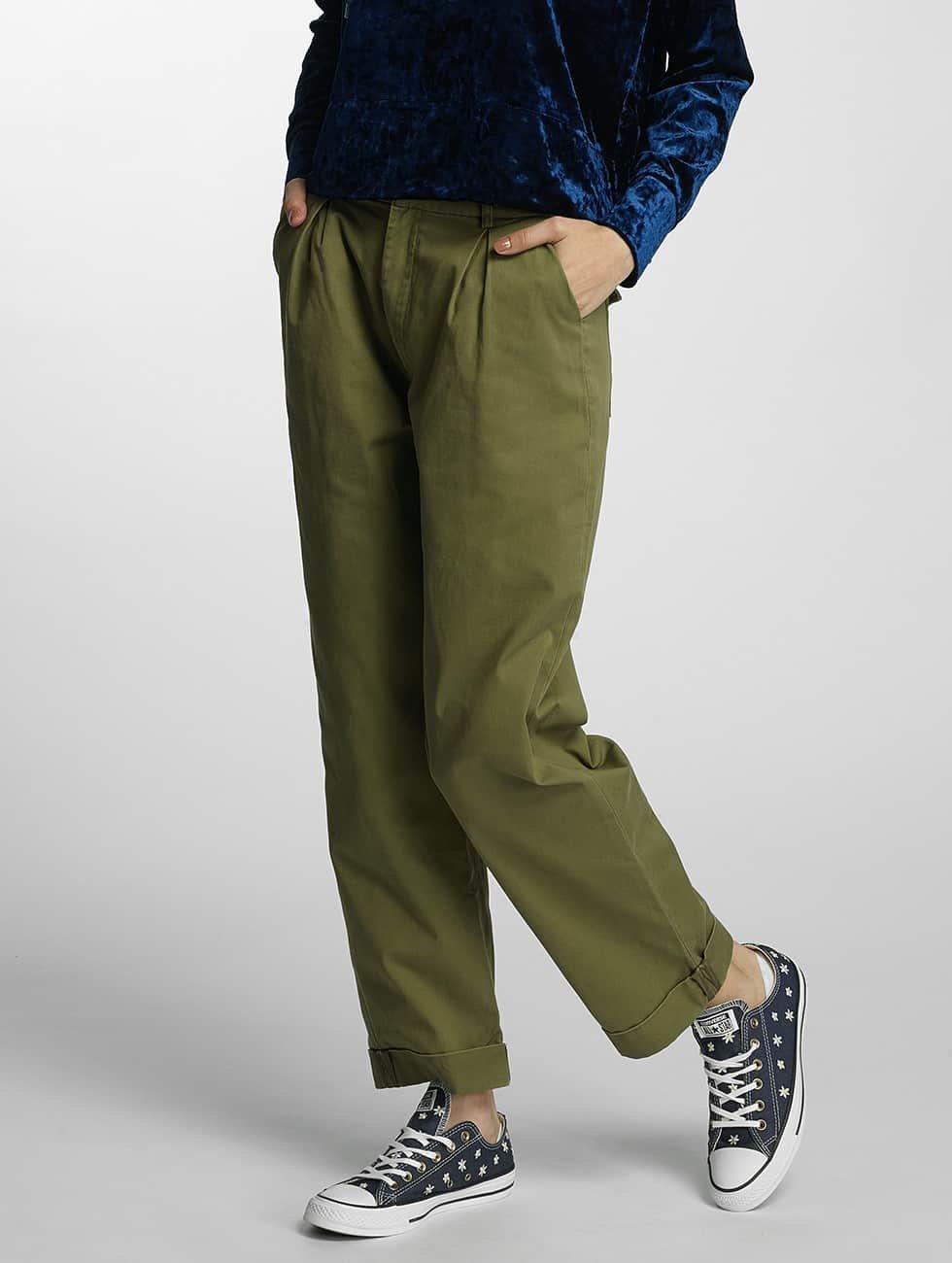Noisy May Spodnie wizytowe nmCannon oliwkowy