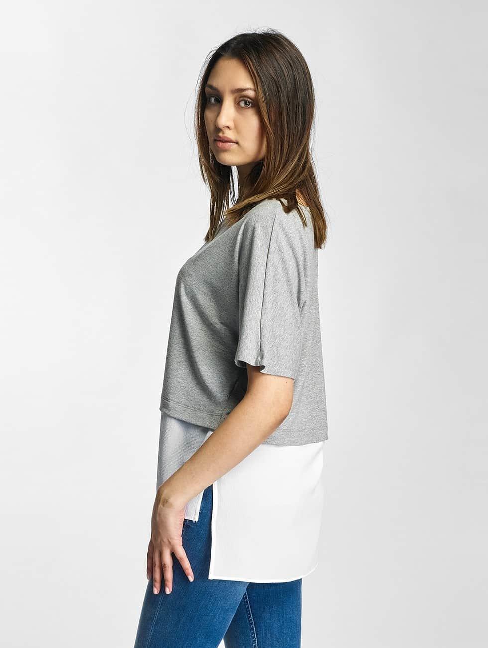 Noisy May T-skjorter nmMolly grå
