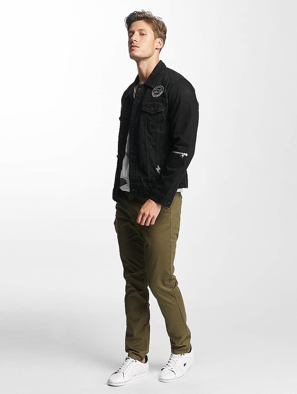 Only & Sons Lightweight Jacket onsRocker Patch Denim black