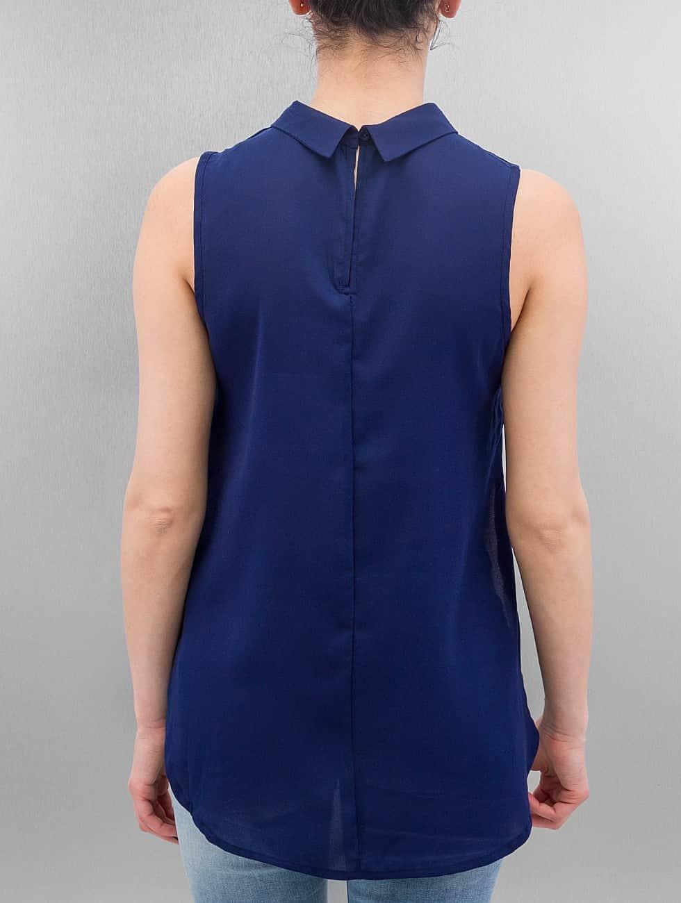 Only Bluse onlMette blau