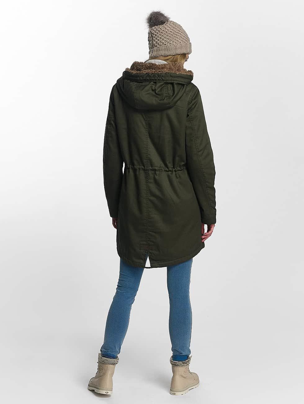 Only Manteau hiver onlFavourite vert