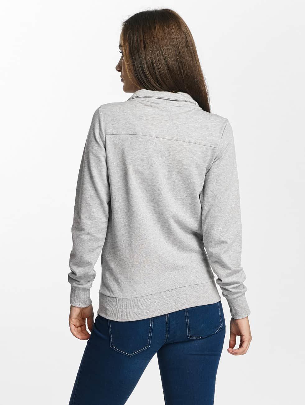 Only Play Transitional Jackets onpLina High Neck Zipper grå