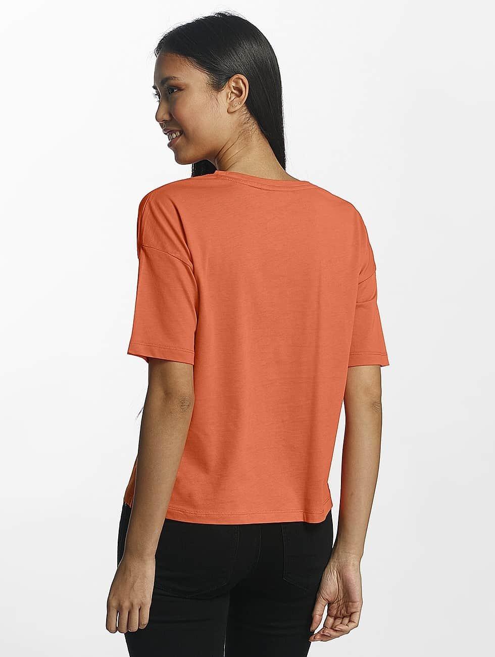 Only T-Shirty onlSofie pomaranczowy