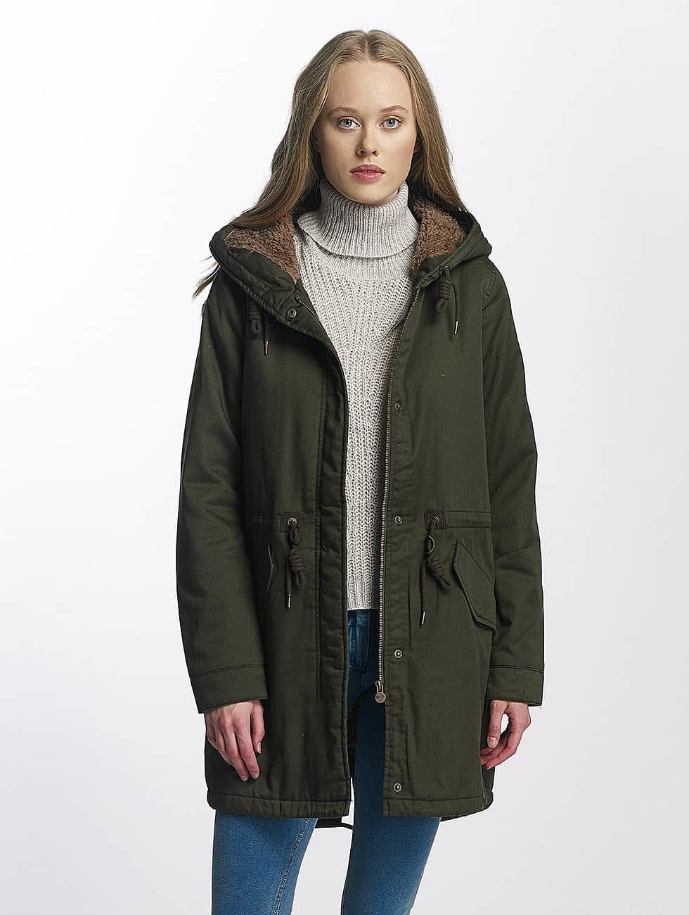 Only winterjas onlFavourite groen