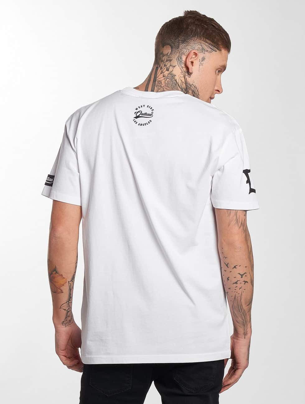 Outlaw t-shirt Outlaw Customs wit