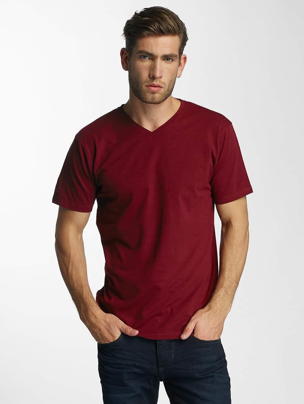 Paris Premium T-skjorter Basic red