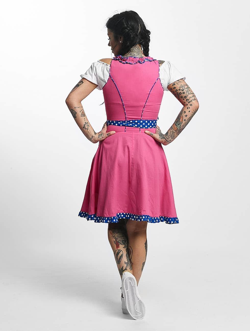 Paris Premium Vestido Funny fucsia