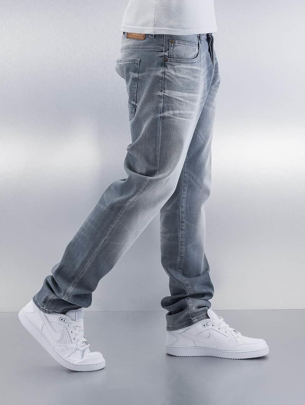 Petrol Industries Straight Fit Jeans Turner grau