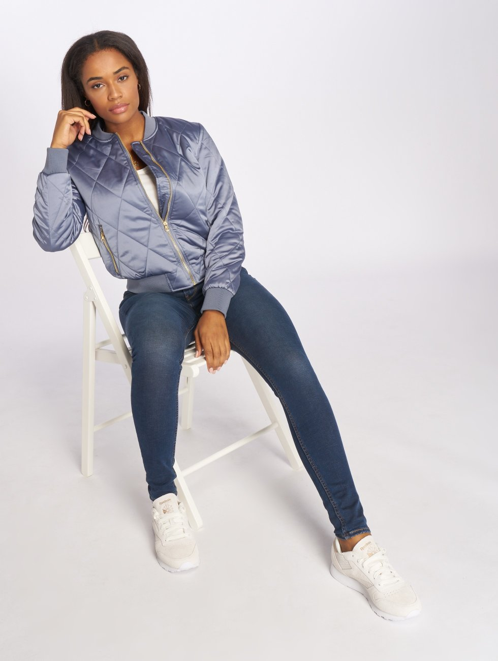 Pieces Bomber PCHaley bleu