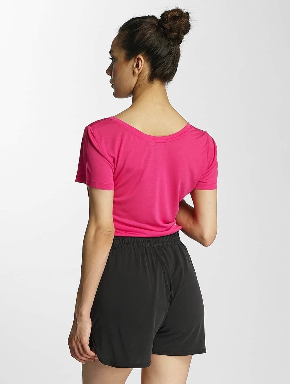 Pieces T-skjorter pcKatty lyserosa